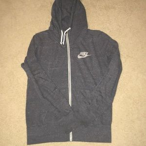 Nike lightweight zip up